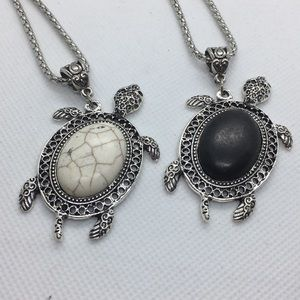 Jewelry - 6 Pack Wholesale Turtle Necklace Lot